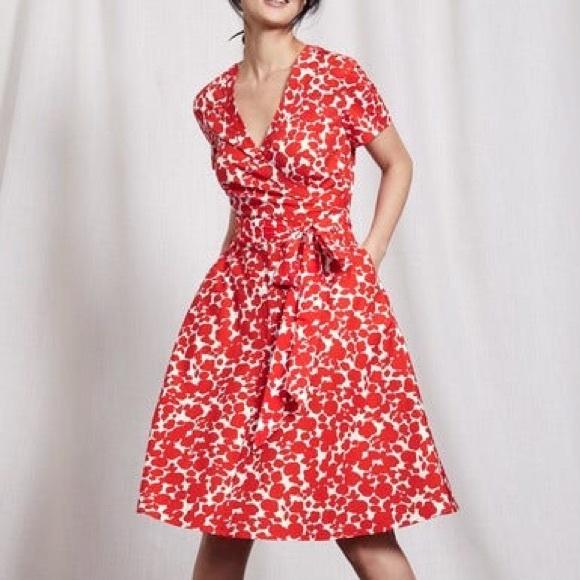 Boden Dresses Lara Wrap Dress Poshmark